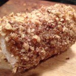Pecan-Crusted Goat Cheese Logs Appetizer Recipe