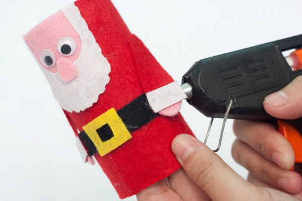 step 20 cute felt santa craft