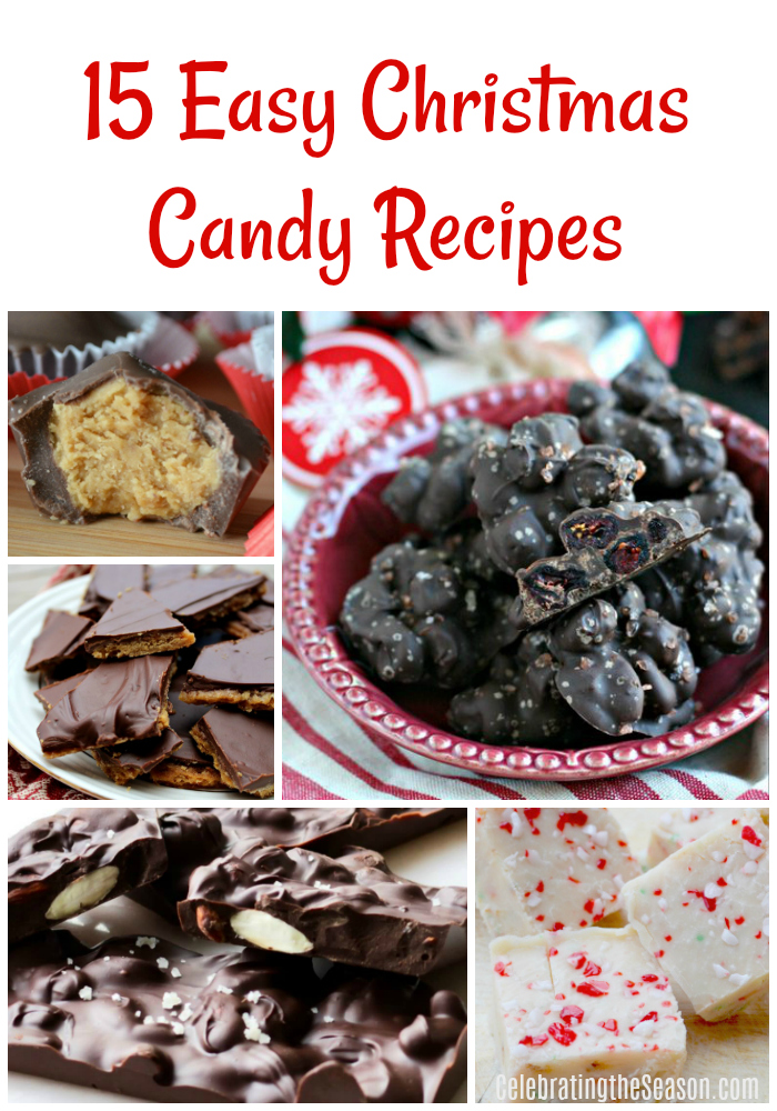 15 Easy Christmas Candy Recipes