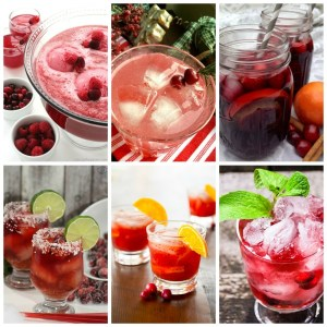 10 Festive and Delicious Cranberry Drink Recipes for the Holidays.