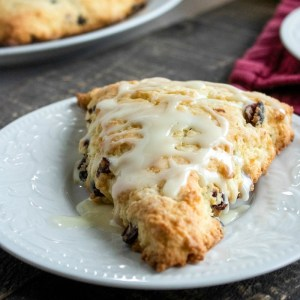 These cranberry orange scones make a delicious addition to your holiday brunch menu.