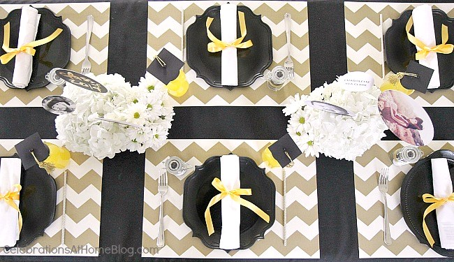 1000 Images About Black And Gold Party On Pinterest Favors Glitter Cake Napkins