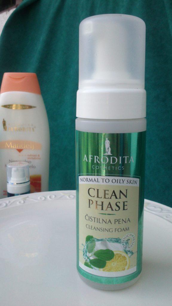 Afrodita Clean Phase pjena