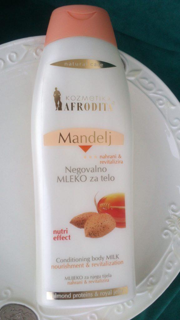 Afrodita mlijeko za tijelo badem