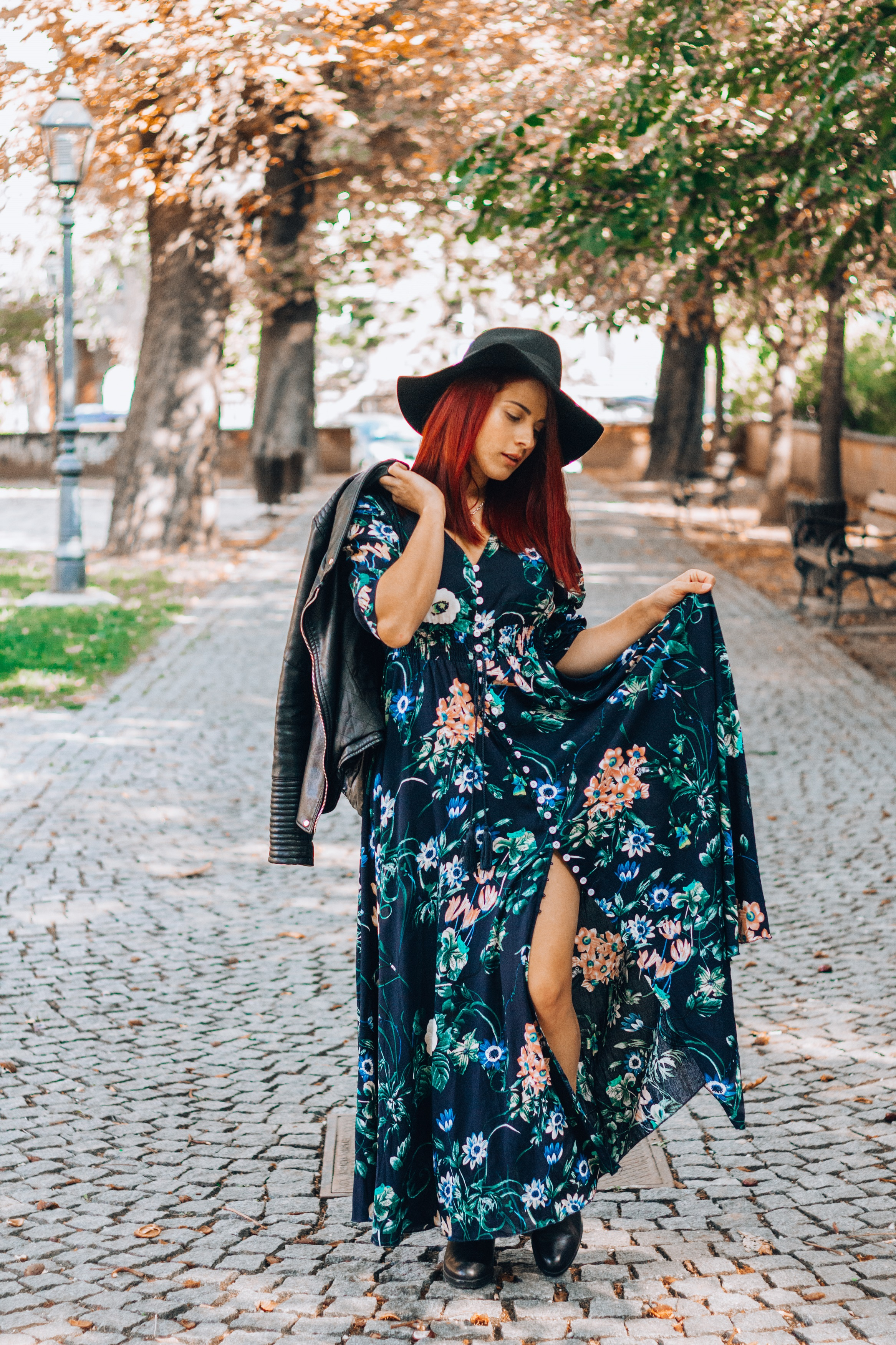 Todays Outfit – One hell of a flower print dress