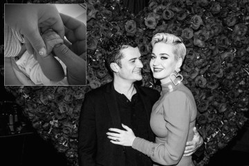 Katy Perry y Orlando Bloom ya son papás.