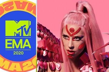 Lady Gaga domina nominaciones a MTV EMA 2020