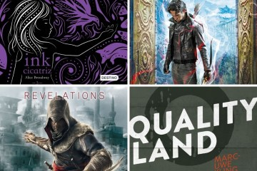 Cazadores de Sombras, Assassin's Creed, QualittyLand, Ink Cicatriz