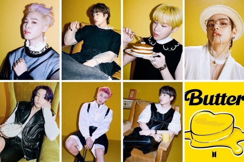 """BTS presentó """"Butter""""."""