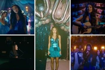 Olivia Rodrigo hizo su SOUR prom.