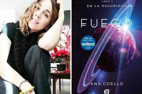 Ana Coello habla sobre su libro Fuego.