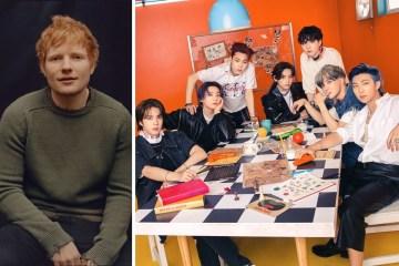"""""""Permission to dance"""" es la segunda canción de Ed Sheeran para BTS."""