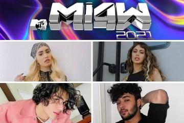 Pink Carpet de los MTV MIAW 2021