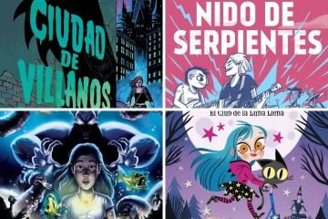 Libros juveniles con misterios y terror