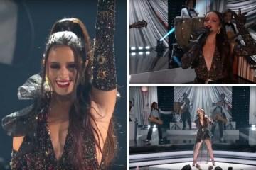 """Camila Cabello cantó """"Don't go yet"""" en los Premios Billboard Latinos."""