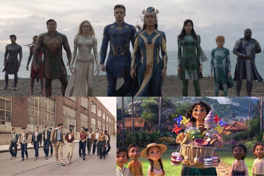 Eternals y otros estrenos de Disney que se estrenarán exclusivamente en cines.