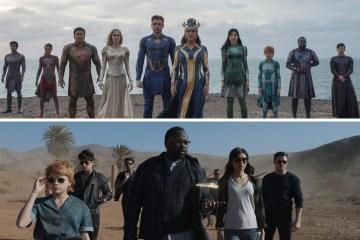 Conoce a los personajes de Eternals. Fotos: Marvel Studios / Disney.