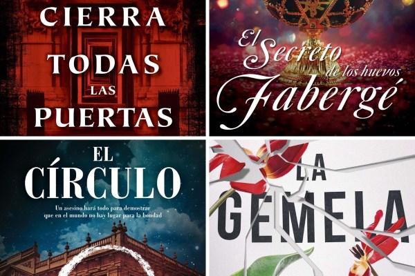Novelas de intriga, thriller, misterio.