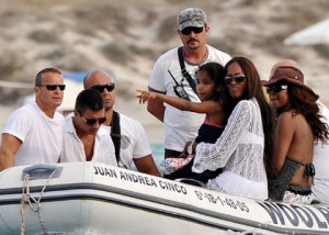 Naomi Campbell Yachting In The Mediterranean Luxury