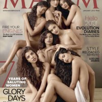 Hot Models Goes Topless - Maxim India (January 2013) Stills