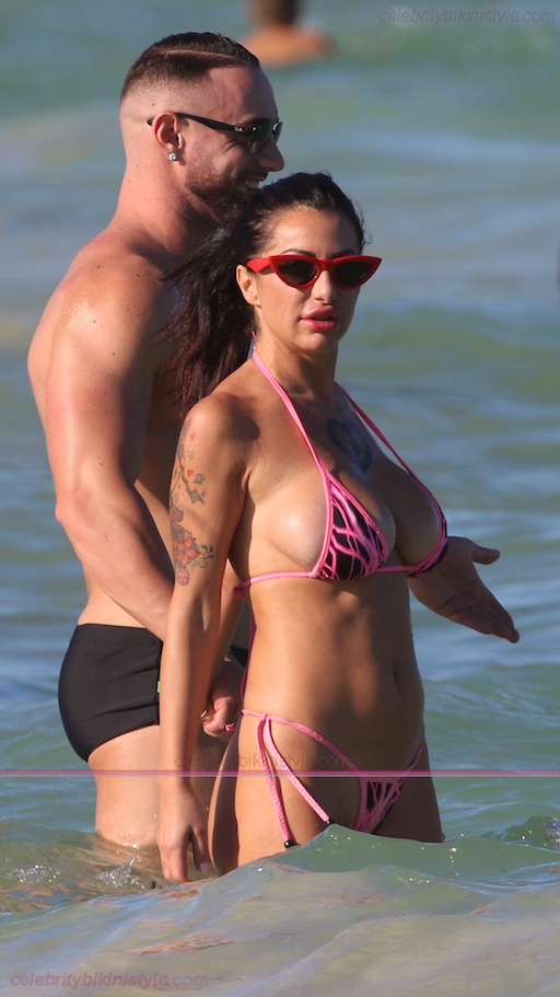 Priscilla Salerno In A Pink Bikini – Celebrity Bikini Style