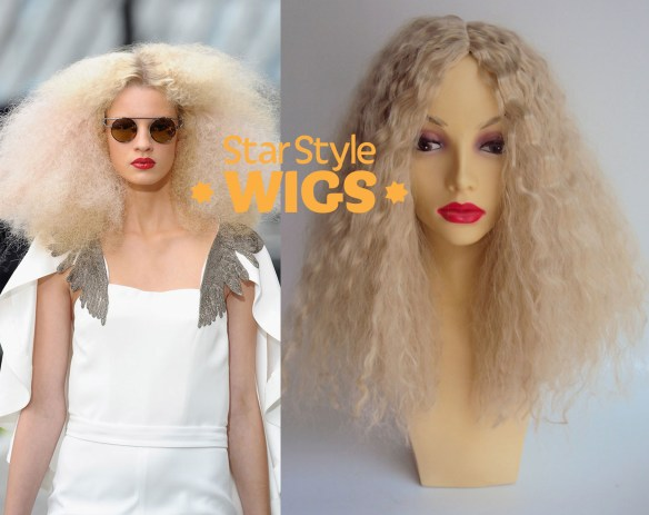 Blonde Fashion Afro Wig