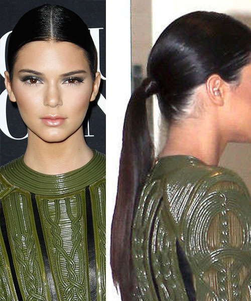 Kendall Jenner Clip In Ponytail