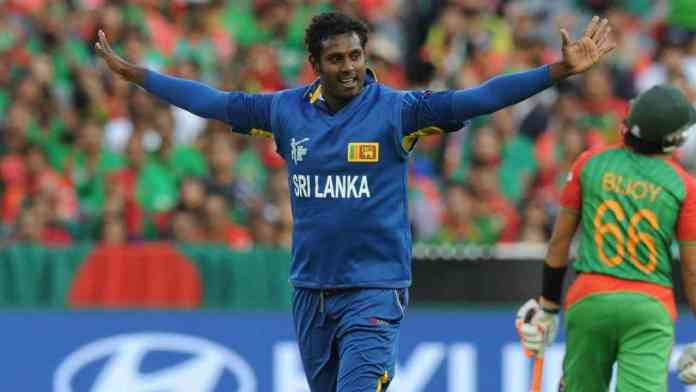 Angelo Mathews matches