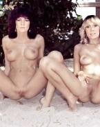 Frida Lyngstad & Agnetha Faltskog ABBA Porn Fake-006
