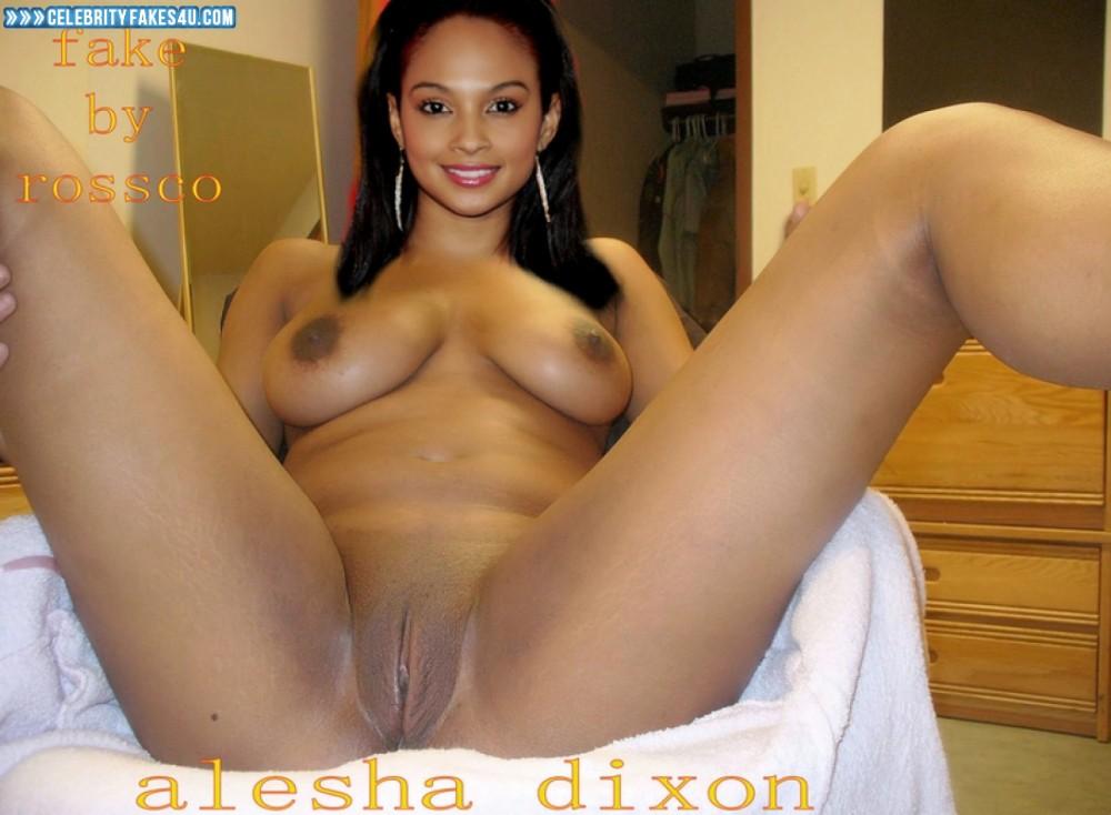 Alesha Dixon Leaked Pussy Exposed Naked 001 -8064