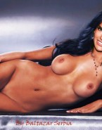 Alessandra Ambrosio Naked Body Boobs Fake 002
