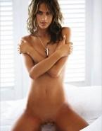 Alessandra Ambrosio Naked Horny Fake 001