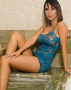 Alex Jones Lingerie Big Breasts Naked 001