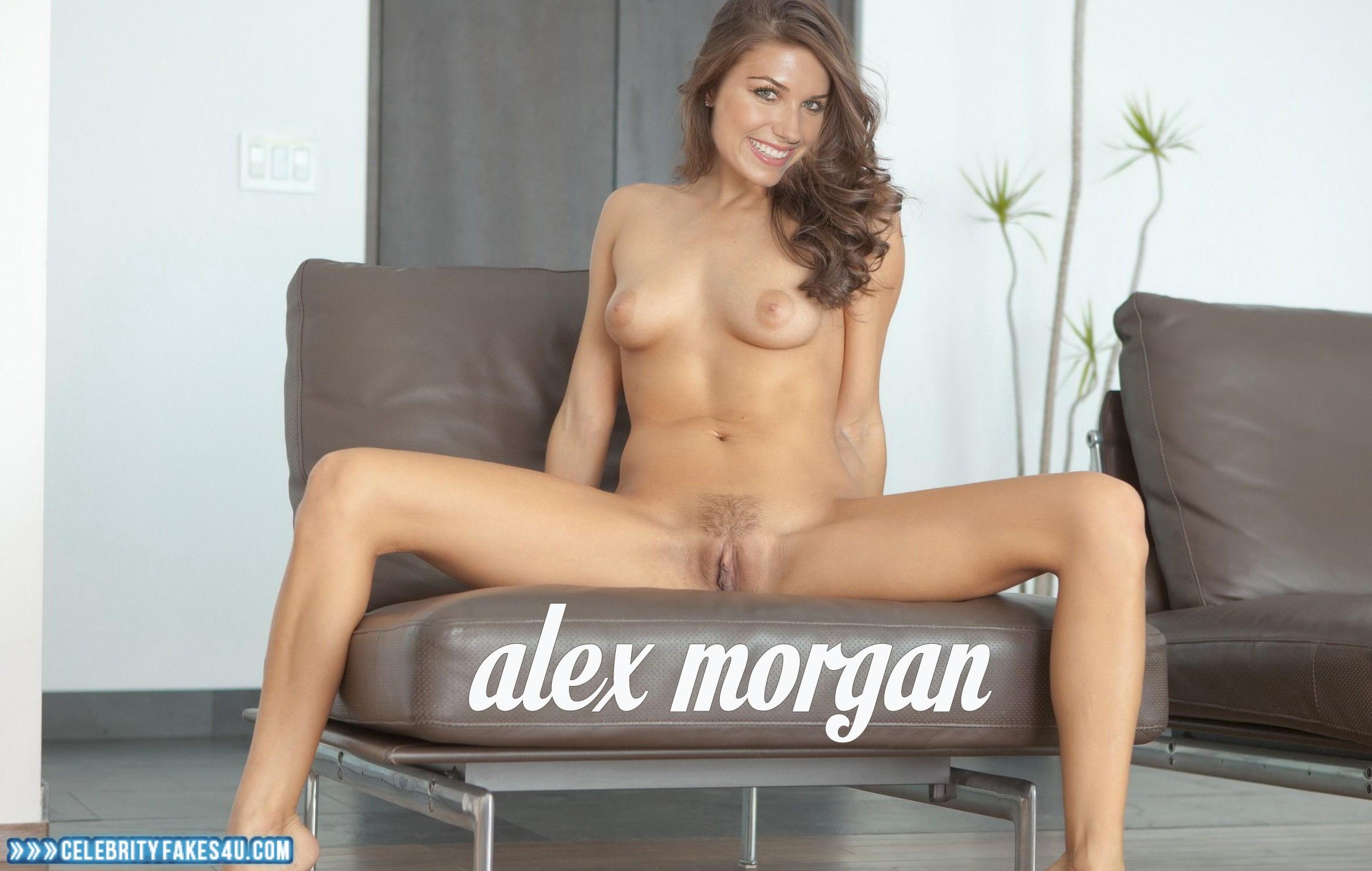 Alex morgan fake porn