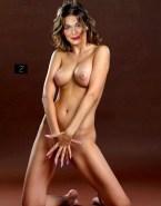 Alexa Davalos Touching Herself Nude Body 001