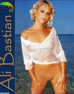 Ali Bastian Wet See Thru Naked Fake 001