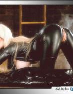 Alicia Silverstone Leather Batman Naked 001