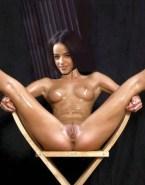 Alizee Wet Exposing Vagina Naked 001