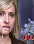 Allison Mack Loves Drinking Cum Smallville Xxx 001