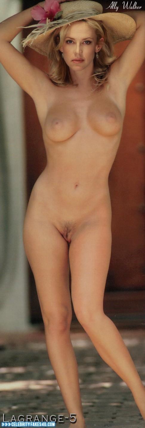 Ally Walker Nude