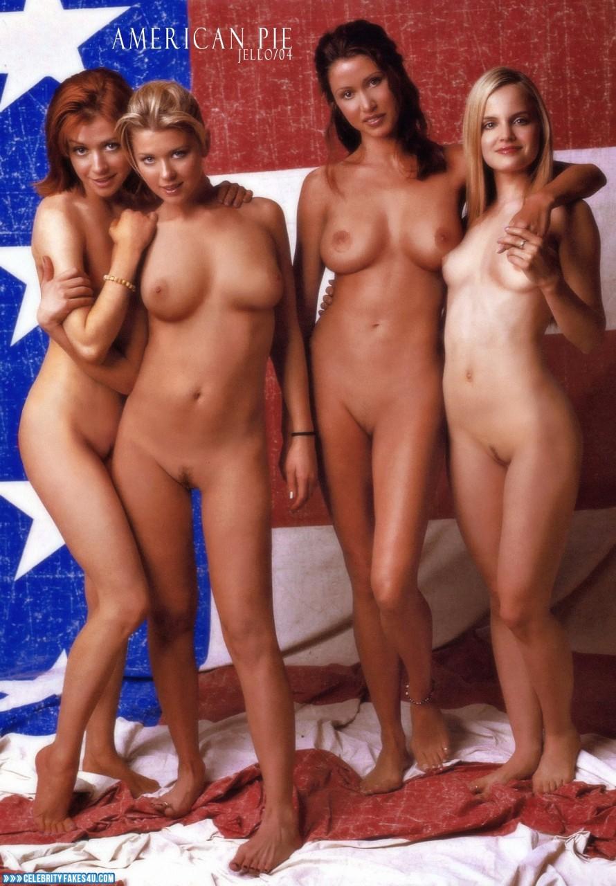 American Pie Naked alyson hannigan lesbian 001 « celebrity fakes 4u