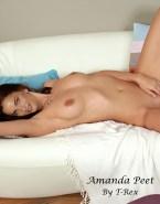 Amanda Peet Touching Herself Nude Body 001