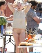 Amanda Seyfried Camel Toe Public Naked Fake 001