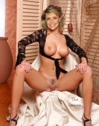 Amanda Tapping Tits Pussy Exposed 001