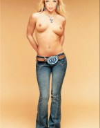 Amanda Tapping Topless Blonde Nsfw 001