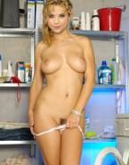 Amber Benson Undressing Panties Fake 001