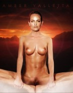 Amber Valletta Boobs Pussy Exposed Naked 001