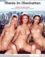 Sarah Michelle Gellar Amy Acker and Alyson Hannigan Nude Fake-001