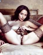 Amy Acker Plays With Pussy Beads Fake-001