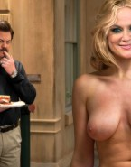 Amy Poehler Tits Topless Nude Fake 001